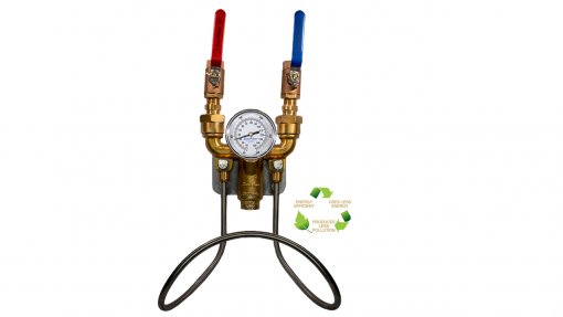 Ball Valve Hot & Cold Water Mixing Unit