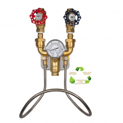 Brass Hot & Cold - Water Mixing Unit