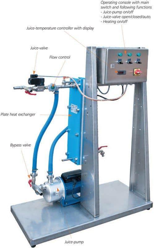 plate-heat-exchanger-pasteurizer