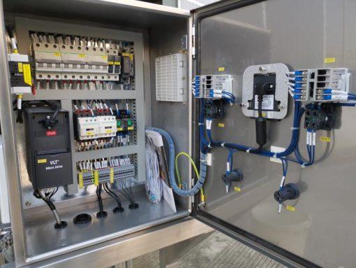 Bevo Tech 100l CIP System panel