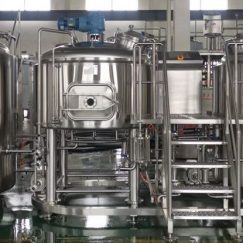 5HL Gas Heating Brewhouse